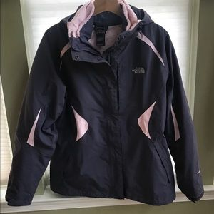 The North Face Women's fleece Triclimate jacket L